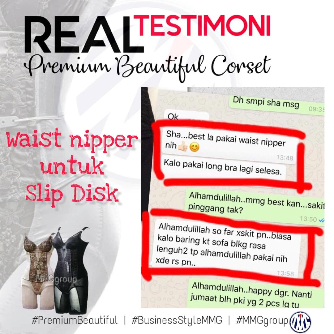Testimoni Premium Beautiful : Slipped Disk