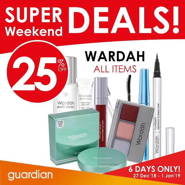 #Guardian - Promo Katalog Weekend Deal Periode 28 - 01 Januari 2019