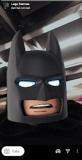 Cara Mendapatkan Filter Batman Instagram