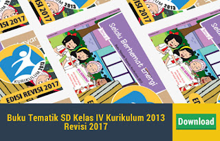 Buku Tematik SD Kelas IV Kurikulum 2013 Revisi 2017