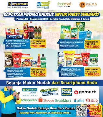 Katalog Promo Koran Hypermart Periode 24 - 26 Agustus 2021