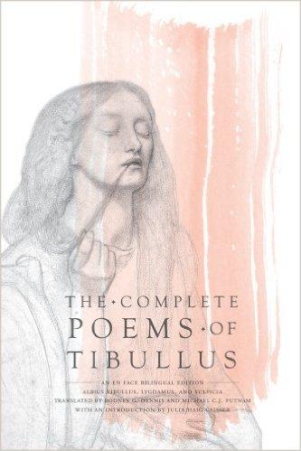 Bilde av Dennis og Putnams bok «The Complete Poems of Tibullus», hentet fra Amazon.
