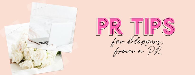 PR TIPS FOR BLOGGERS FROM A DIGITAL MARKETING EXECUTIVE AND PR