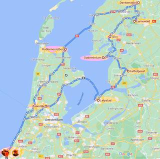 camperroutes rondje IJsselmeer vanlife camper womo campertour