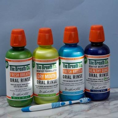 The Breath Co. oral rinses