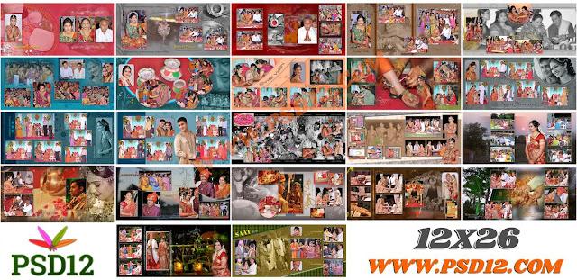 12x26 Photo Album PSD Download
