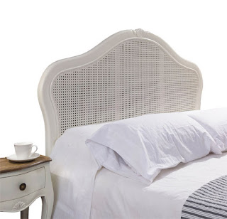 cabezal de cama 150 clasico blanco