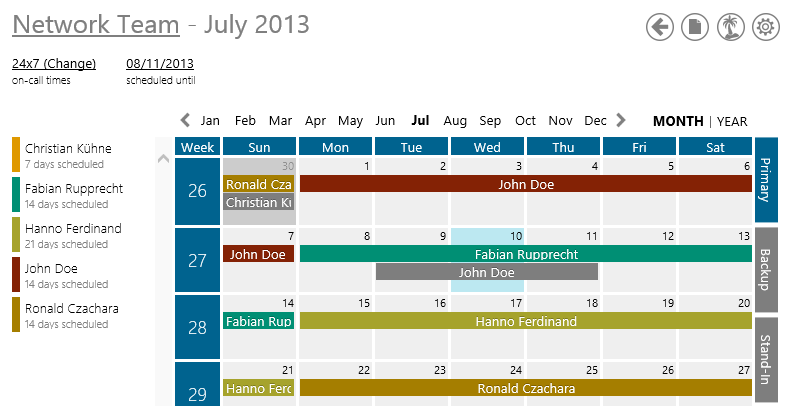 on call rotation calendar template - joomla upload template file joomla 3 screenshot der