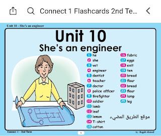 وسائل تعليمية لمنهج اللغة الإنجليزية للصف الاول الابتدائي 2020