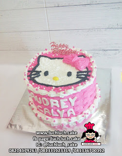 Kue Tart Buttercream Hello Kitty