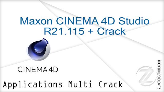 Maxon CINEMA 4D Studio R21.115 + Crack