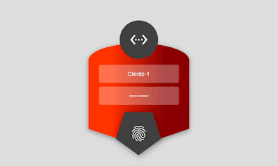Template Login MikroTik Red-box