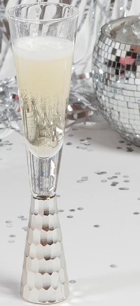 8 Oak Lane Champagne Glass Silver