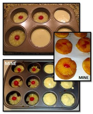 Mini Pineapple Upside Down Cakes #recipes #dessertrecipes #easyrecipes #easydessertrecipes #food #foodporn #healthy #yummy #instafood #foodie #delicious #dinner #breakfast #dessert #lunch #vegan #cake #eatclean #homemade #diet #healthyfood #cleaneating #foodstagram