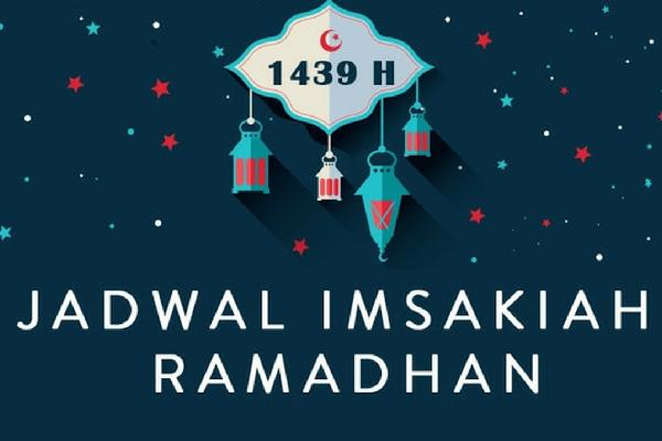Jadwal Imsakiyah Ramadhan 1439 H/ 2018 Wilayah Mamuju Sulawesi Barat