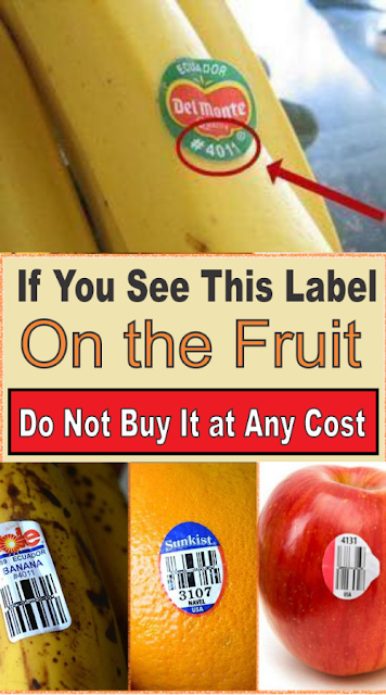 If You See This Sticker On a Fruit, DO NOT Buy It At Any Cost. Here's Why!