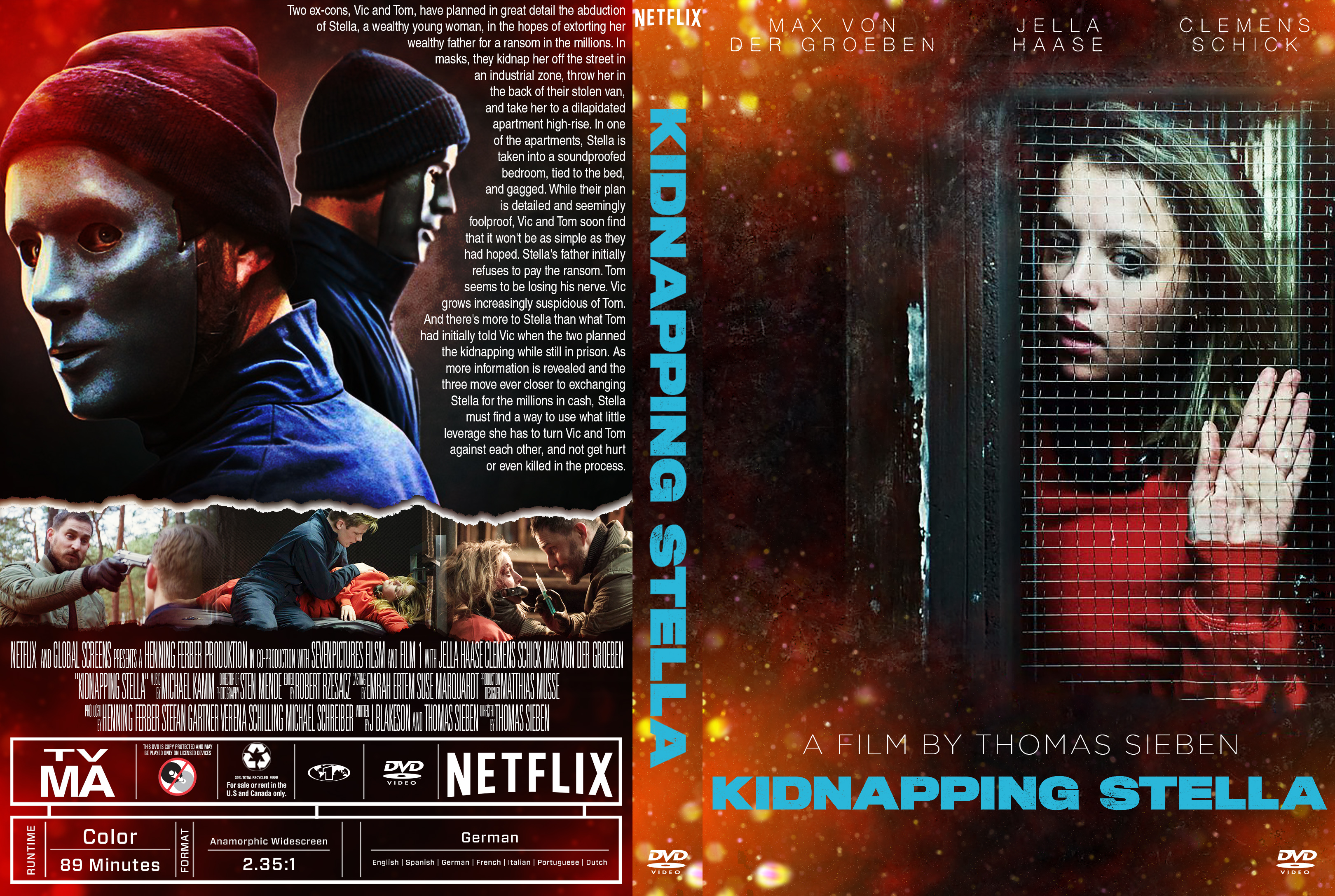 Kidnapping Stella DVD Cover | Cover Addict - Free DVD ...