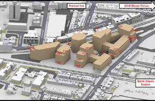 Avanton Properties redevelopment proposal for the Homebase site in North Sheen