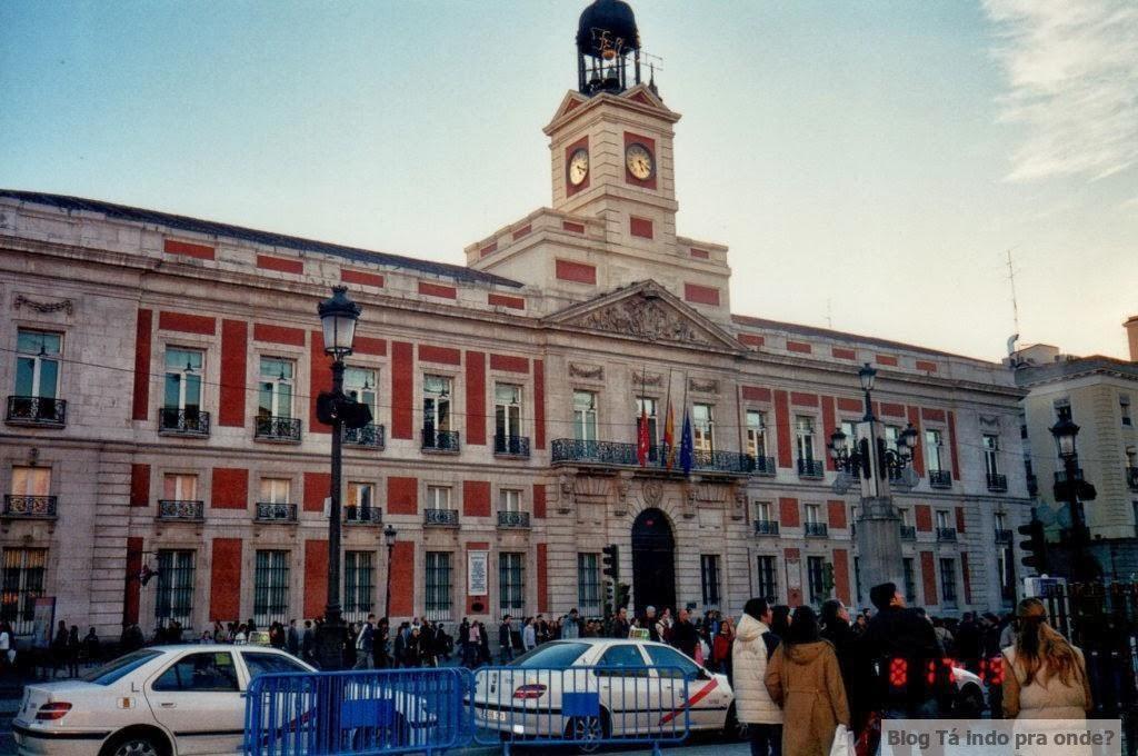 na Puerta del Sol