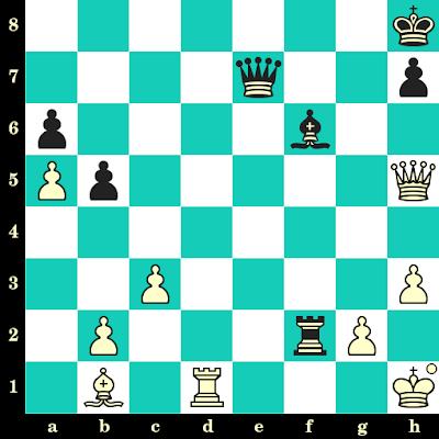 Les Blancs jouent et matent en 2 coups - Andrei Macovei vs Viorel Iordachescu, Internet, 2020