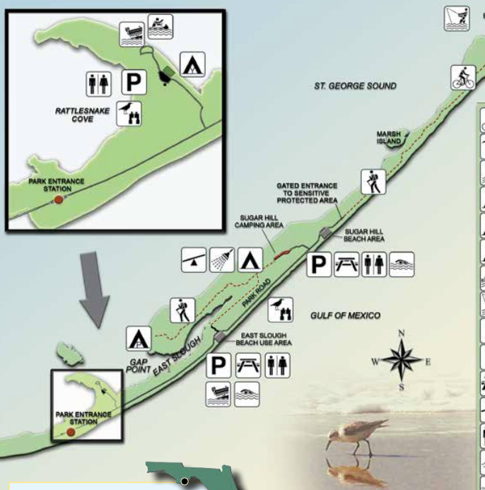 Florida State Parks Map.The Mountain Lioness Two 5ks And Three State Parks Along Florida S