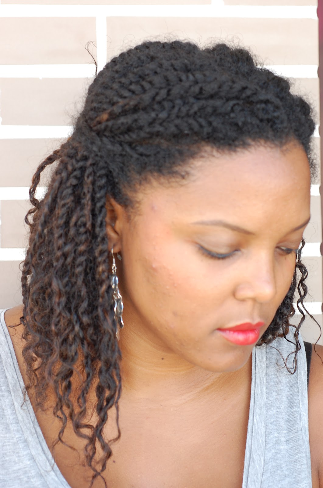Coiffure Tresse De Cote Vanilla 39s And Chocolate 39s Dream Juillet 2012