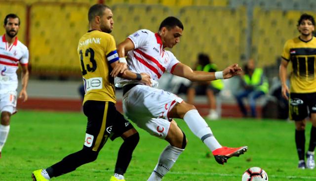 مشاهدة مباراة الزمالك والانتاج الحربي بث مباشر اليوم 13-09-2020 بالدوري المصري