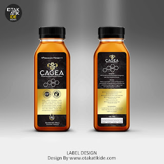 Jasa Desain Label Produk Madu