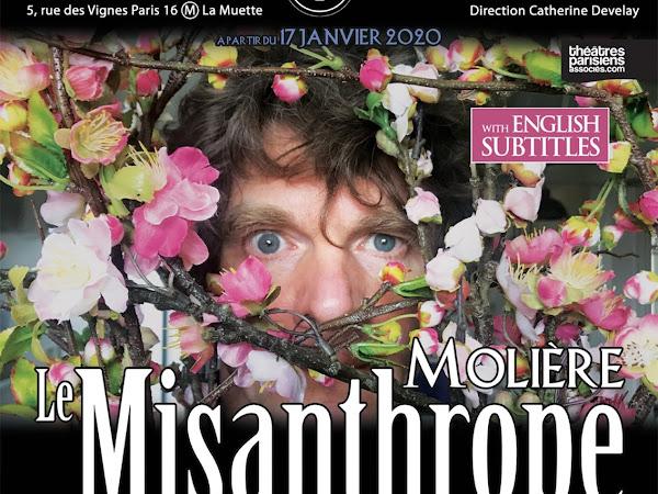 Le Misanthrope de Molière mise en scène Chloé Lambert et Nicolas Vaude