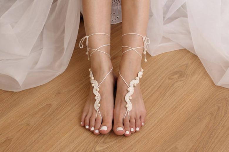 Patrones para confeccionar Sandalias Barefoot