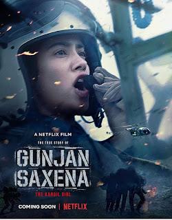 Gunjan Saxena will release  on Netflix on August 12
