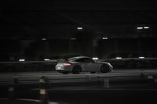 We left Qatar Racing Club as dark fell over our heads