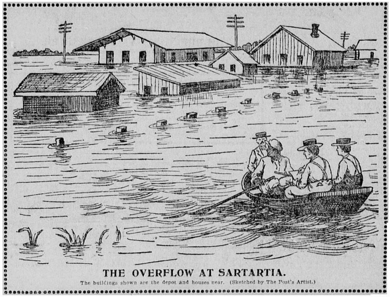 The Old Sugar Land Club House: 1899 Flood