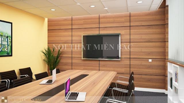 Bàn phòng họp bàn gỗ veneer tinh tế, đẳng cấp