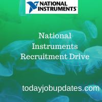 National Instruments Recruitment Drive