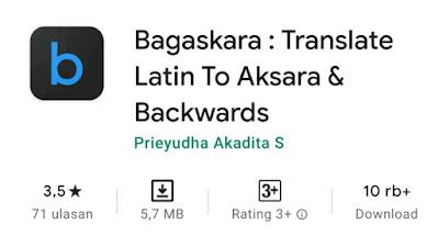 Aplikasi Bagaskara