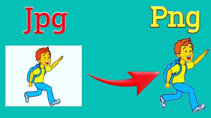 How To Convert JPG To PNG - फोटो को पीएनजी में कैसे बदलें?