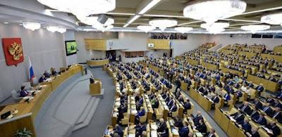 إحدى جلسات مجلس الدوما الروسي