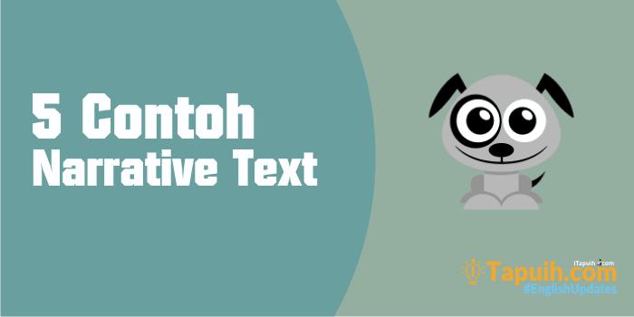 5 Contoh Narrative Text Fable Lengkap Paja Tapuih