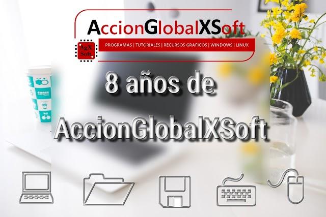8 años de AccionGlobalXSoft