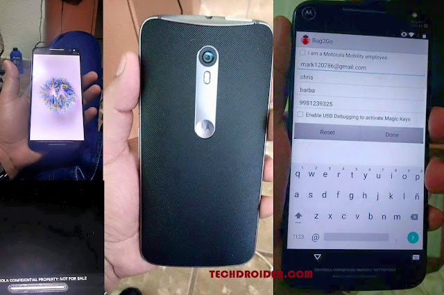 Here is First Look of the Moto X (3rd Gen)