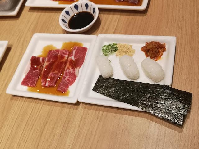 DIY Niku Sushi Set