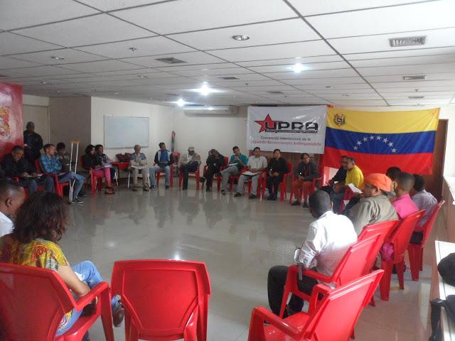 Realizado Encuentro de Organizaciones Revolucionarias para la discusión de Propuestas a la ANC