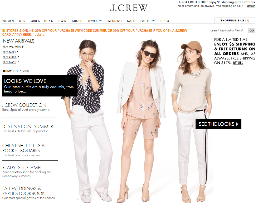 ef2c47d50c3 to many of you, including Ina Mack (in this post), who let us know that J. Crew had an update to its website (click here to view online).