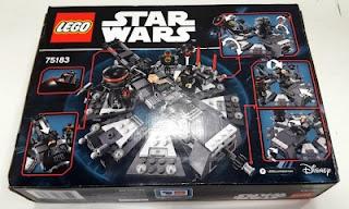lego star wars 75183 darth vader transformation box rear back