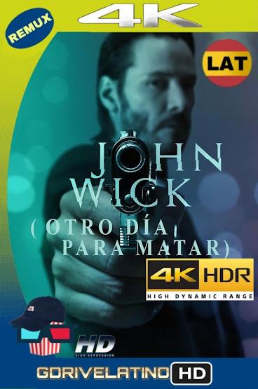 John Wick (2014) BDRemux 4K HDR Latino-Ingles MKV
