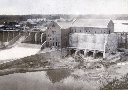 construction of Croton Dam