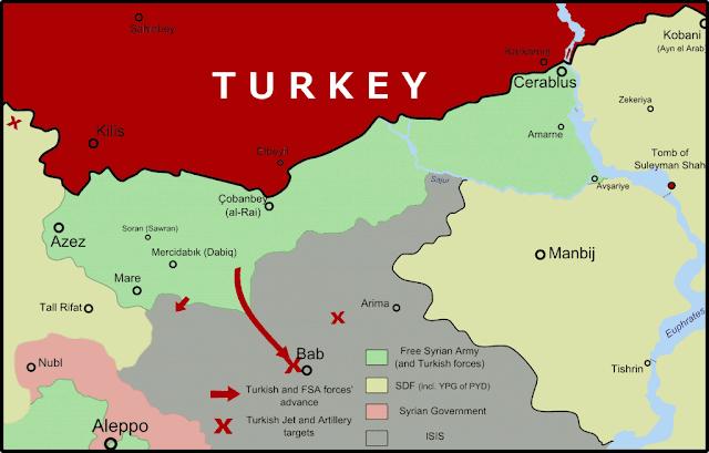 """Η Τουρκία θέλει να δημιουργήσει στη Συρία μία… """"μαριονέτα""""!"""