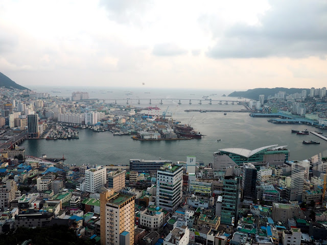 View over Nampo from Busan Tower, South Korea