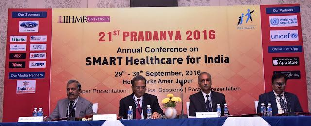 IIHMR University organises 21st  Annual Conference - Pradanya 2016